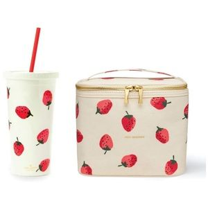 Kate Spade Insulated Lunch Bag + 20 Oz Tumbler